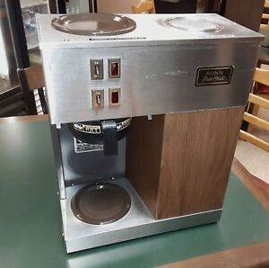 Bunn Vpr Commercial Coffee Brewer Pour Over Only Works Well
