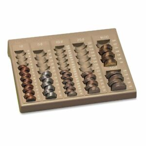 Coin Sorter Tray Holder Change Counter Organizer Cashier Money Pennies Quarters