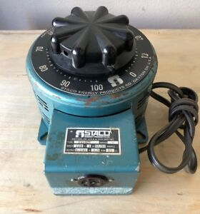 Staco Energy Variable Power Transformer Type 2510ct 25a Variac Working Plz Read