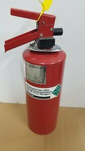 Halon 1211 5lb Fire Extinguisher Ansul Sentry Fresh Hyrdo Recharge New Tag