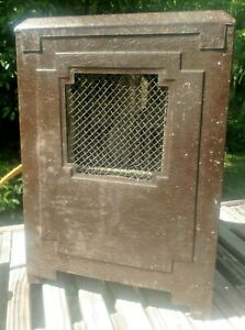 Rare Antique Noblitt Electric Heater 110v 1320 W Not Tested Cord Severed
