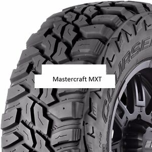 1 New 31x10 50r15 Mastercraft Mxt Mud Tire 31105015 31 1050 15 10 50 R15 Mt