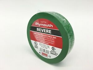 Plymouth Rubber 3898 Revere Green 7 Mil Vinyl Electrical Tape 3 4 X 60 Spain