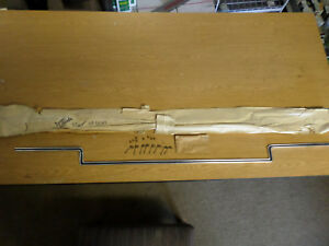1966 Chevy Impala Caprice Rear Compartment Trunk Lid Mldg Gm 4227026 Nos Oem
