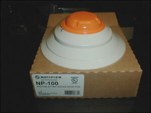 Notifier Np 100 Addressable Photoelectric Smoke Detector New Free Shipping