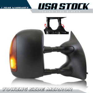 For Ford F250 F550 08 16 Passenger Side Towing Power Heated Mirror Turn Signal
