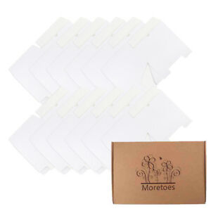 Moretoes Paper Boxes 12 Pack 8x8x4 Inches Paper Gift Boxes With Lids For Gifts