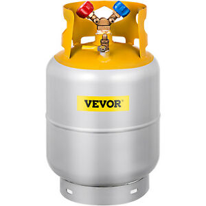 Refrigerant Recovery Reclaim 30lb Cylinder Tank 400 Psi Interior Rated Y Valve