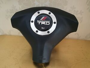 Trd Toyota Supra Jza80 Steering Wheel Horn Pad Only