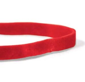 Cwc 64 Rubber Bands 3 1 2 X 1 4 Red Compound 1lb pack Of 25 Bag