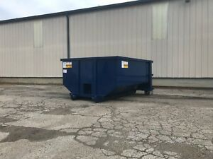 Lot Of 4 New 10 Yard Roll Off Container Dumpster
