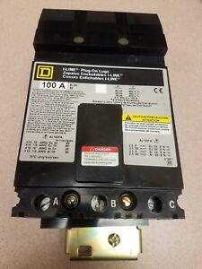 Square D Sl100 3p 100amp Circuit Breaker Panel Sub Feed
