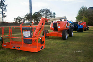 2012 Jlg 600aj 60 Diesel Articulating Boom Lift Skypower Low Hours Nice Machine