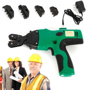 Electrical Wire Connector Terminal Crimping Tool Wire Crimper 0 5 6mm Awg 12ton