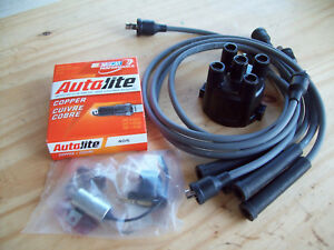 Tune Up Kit Satoh Tractor S550 S650 Case Tractor 284 With Wires And Cap