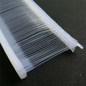 50 000 2 Inch Regular Clear Price Tag Tagging Barbs Fasteners Commercial