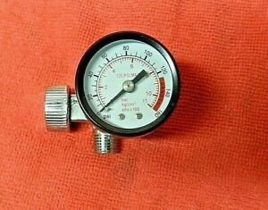 Air Regulator With Gauge For Air Tools And Spray Guns