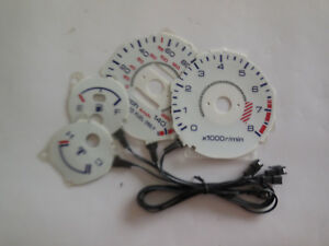 Rig 500 Reverse Glow Gauge For Acura Integra Rs Gs 90 93