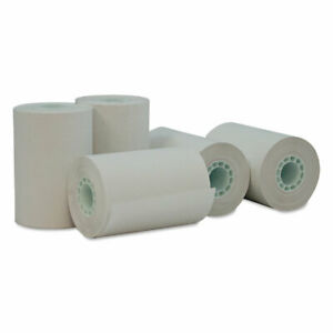 Universal Single ply Thermal Paper Rolls 2 1 4 X 55 Ft White 50 carton 35766