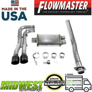 Flowmaster Fx Cat Back Exhaust System For 2015 2019 Ford F 150 2 7l 3 5l 5 0l