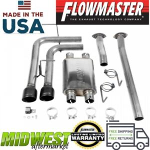 Flowmaster Fx Cat Back Exhaust System Fits 2009 2018 Toyota Tundra 4 6l 5 7l V8