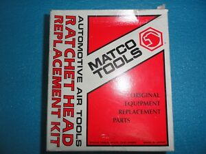 Matco Mt1839a 3 8 Drive Air Ratchet Head Replacement Kit
