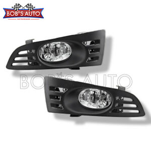 For 2003 2005 Honda Accord Coupe Oe Style Bumper Fog Lights Kit Harness Switch