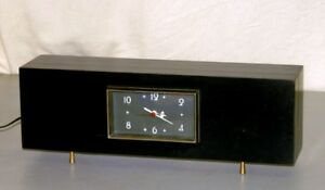 Vintage 1950 S Mid Century Modern Sessions Westminster Mantel Chime Clock