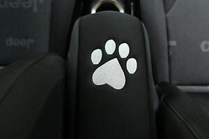 Black Dog Paw Center Console Armrest Pad Cover For Jeep Grand Cherokee 2010 2018