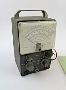 Heathkit V 5a Vacuum Tube Voltmeter W Manual