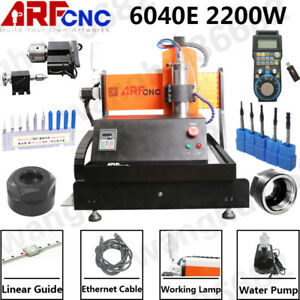 Usa Ethernet 4axis 6040 2 2kw Cnc Router Engraving Milling Machine