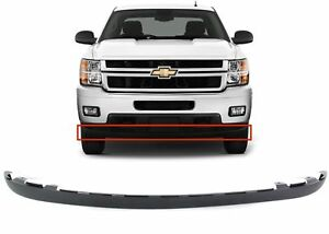 Replacement Lower Front Bumper Air Dam Valance For 2011 2014 Chevy Silverado Hd
