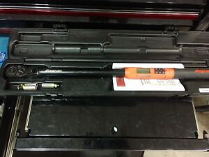 Snap On Techangle Flex 1 2 Digital Torque Wrench 12 5 250 Ft Lb Atech3fr250b