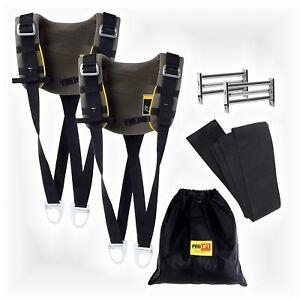 2 Person Shoulder Strap Lifting System Furniture Dolly 2500lb Moving Heavy Duty