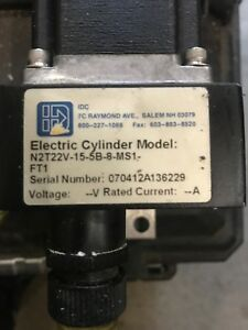 Idc Electric Cylinder N2t22v 15 5b 8 ms1 Linear Actuator