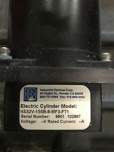 Idc Electric Cylinder Ns32v 155b 8 mf3 ft1 Linear Actuator