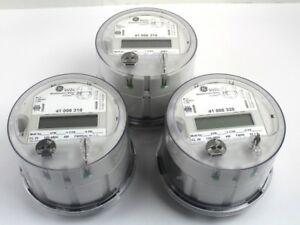 Ge Kv2c Multifunction Meter Fitzall 120 480v Watthour Meter lot Of 3