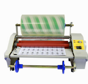 Laminating Machine A2 17 44cm Hot Cold Roll Laminator Film Cover Machine 3 In1