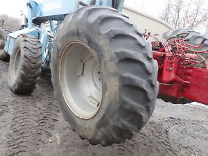 Case C70 Tractor Tires Rims 16 9 28 Good Tread Mccormick C 70