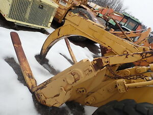 Caterpillar It28b Wheel Loader Log Forks Carrier Tool Carrier It28 Cat