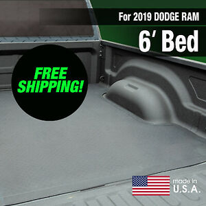 Boomerang Rubber Bed Mat For 2019 Dodge Ram 5 7 Ft Bed Free Shipping