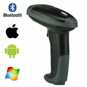 Automatic Wireless Bluetooth Barcode Scanner Handheld Laser Reader Ios Android