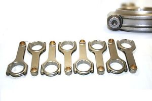 Ford 351w 5 956 Forged 4340 H Beam Connecting Rod W Arp 8740 Bolts