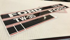 Ford Tw 35 Decals