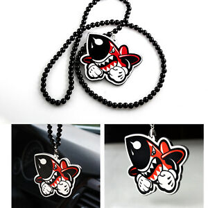 Shark Missile Military Bomb Car Rearview Mirror Hanging Charm Pendant Ornament
