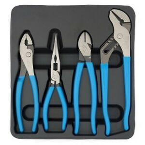 4 Piece Pro S Choice Pliers Set Chapc 41 Brand New