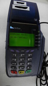 Lot Of 2 Verifone Vx610 Wireless Credit Card Terminal