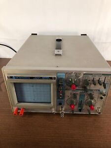 Jdr Instruments Model 2000 Oscilloscope 2 Channel tested Working