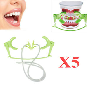 5pc Dental Oral Dry Field System Suction Saliva Lip Cheek Open Retractor Dentist