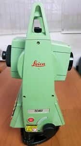 Leica Tc403 Total Station